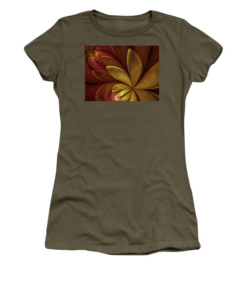 Autumn Plant Women's T-Shirt (Junior Cut) by Gabiw Art