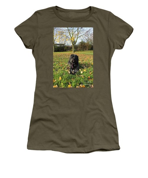 Autumn Portrait Women's T-Shirt (Junior Cut) by Vicki Spindler