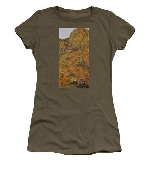 Autumn Sequence Women's T-Shirt (Athletic Fit)