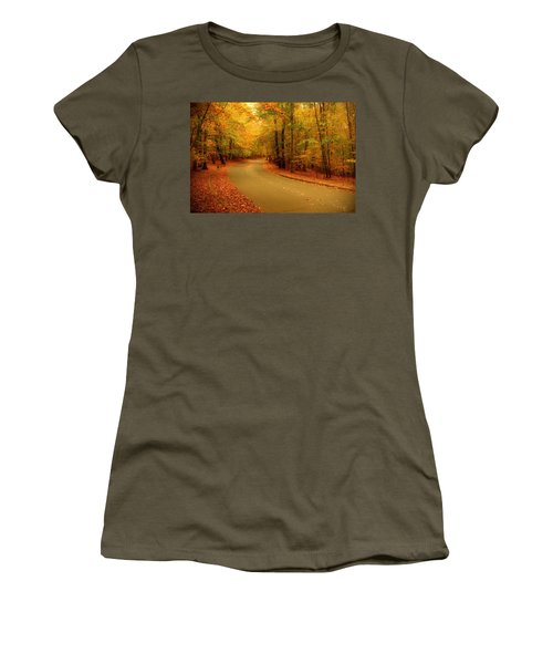 Autumn Serenity - Holmdel Park  Women's T-Shirt