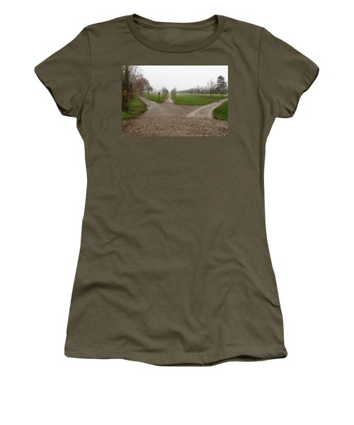 Autumnal Countryscape Women's T-Shirt