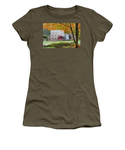 Auutmn At The Grist Mill Women's T-Shirt