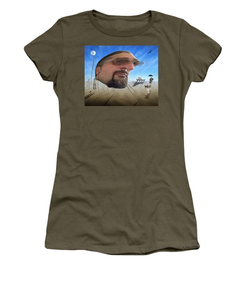 Awake . . A Sad Existence Women's T-Shirt (Junior Cut) by Mike McGlothlen