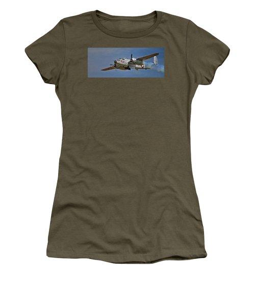 B-25 Take-off Time 3748 Women's T-Shirt