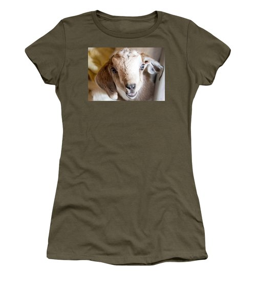 Baby Goat Face Women's T-Shirt