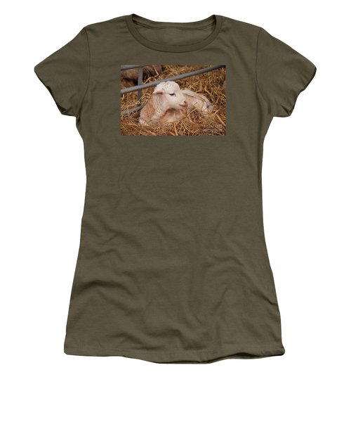 Baby Lamb Women's T-Shirt (Athletic Fit)