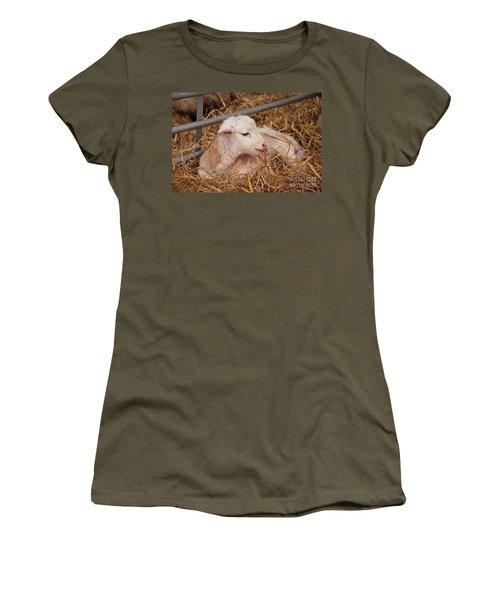 Baby Lamb Women's T-Shirt (Athletic Fit)
