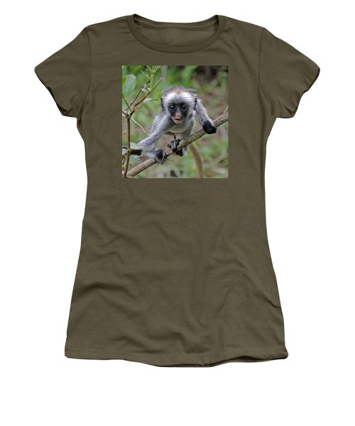 Baby Red Colobus Monkey Women's T-Shirt