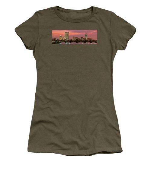 Back Bay, Boston, Massachusetts, Usa Women's T-Shirt (Athletic Fit)