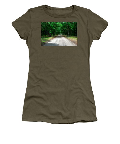 Back Roads Of South Carolina Women's T-Shirt (Athletic Fit)