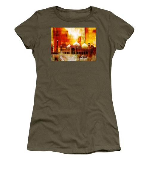 Badshahi Mosque Or The Royal Mosque Women's T-Shirt (Athletic Fit)