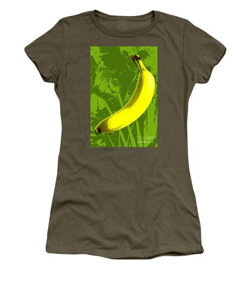 Banana Pop Art Women's T-Shirt