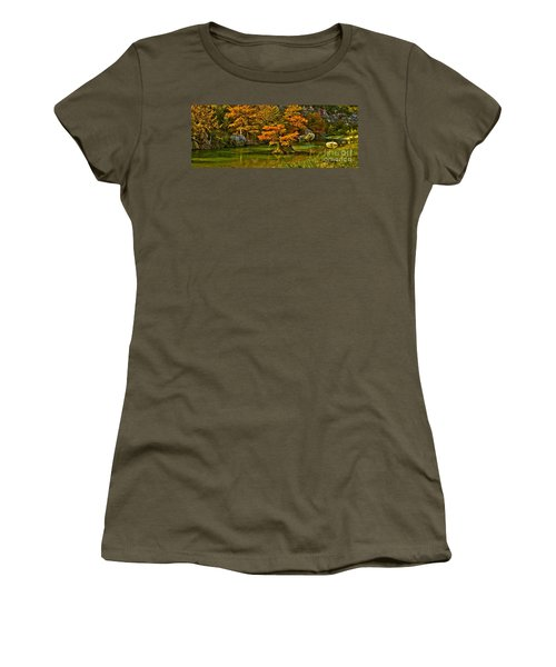 Bandera Falls On Medina River Women's T-Shirt (Athletic Fit)