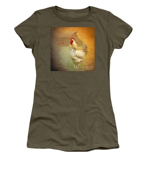 Barnyard Boss Women's T-Shirt (Athletic Fit)