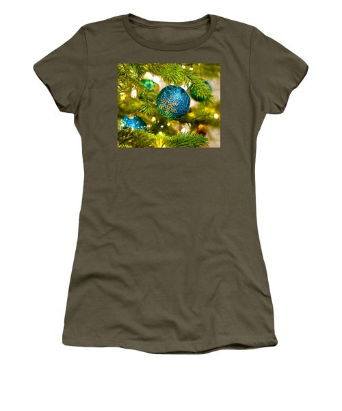 Bauble In A Christmas Tree  Women's T-Shirt