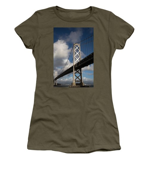 Bay Bridge After The Storm Women's T-Shirt