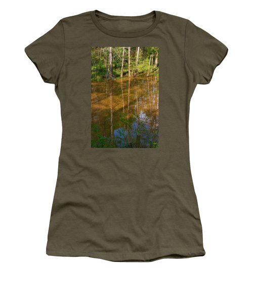 Bayou Reflections Women's T-Shirt (Athletic Fit)