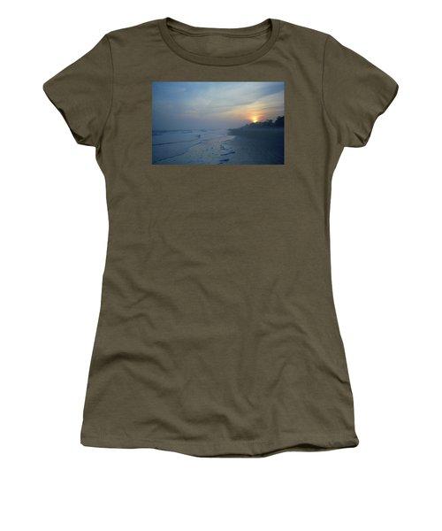 Beach And Sunset Women's T-Shirt