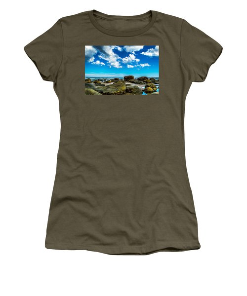 Beachfront Boulders Women's T-Shirt