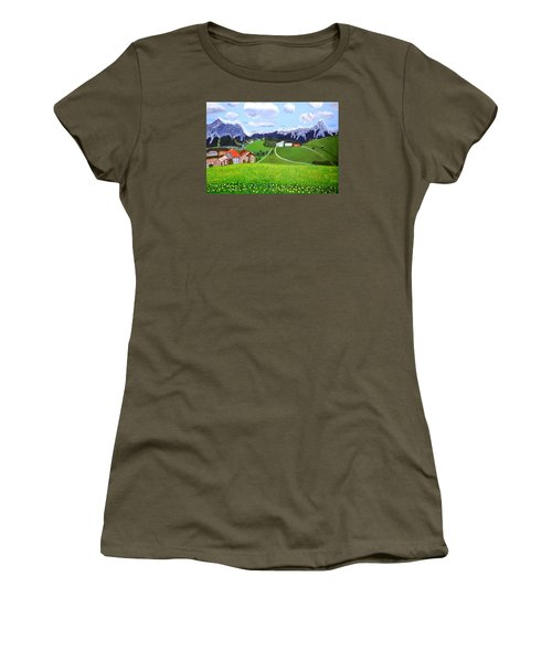 Beautiful Norway Women's T-Shirt (Junior Cut) by Magdalena Frohnsdorff