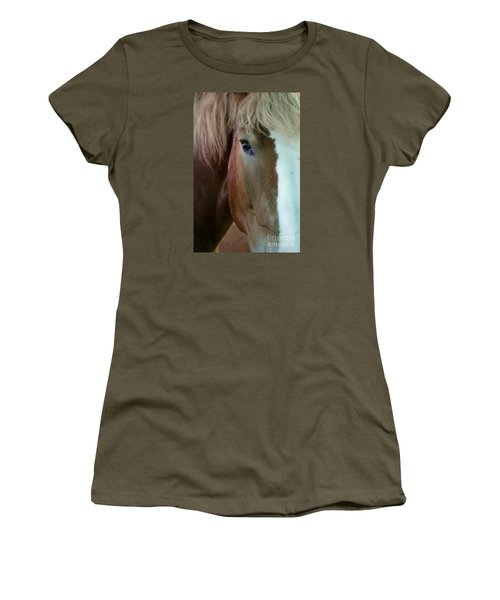 Women's T-Shirt featuring the photograph Beautiful Within Him Was The Spirit - 2 by Linda Shafer