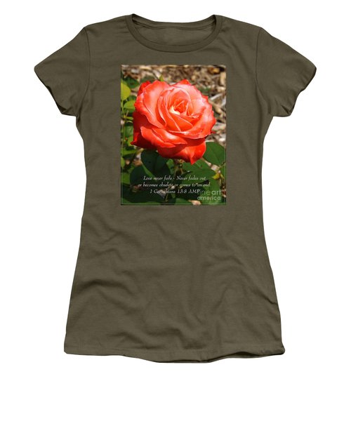 Beauty At Its Best Women's T-Shirt (Junior Cut) by Sara  Raber