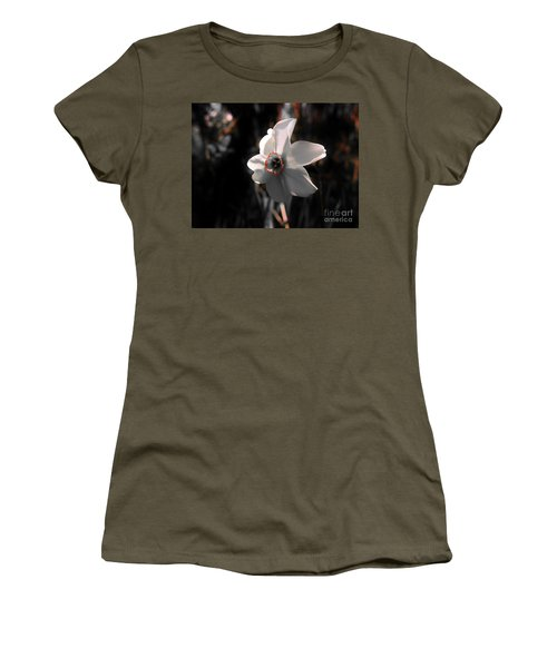 Women's T-Shirt (Junior Cut) featuring the photograph Beauty In The Woods by Sherman Perry