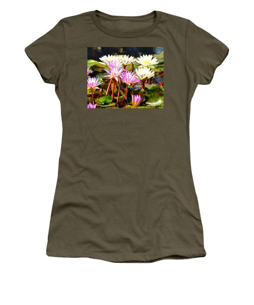 Women's T-Shirt (Junior Cut) featuring the photograph Beauty On The Water by Marty Koch