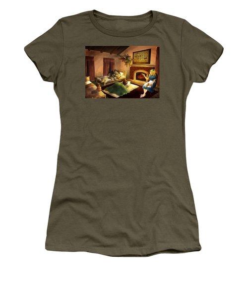 Bedtime Women's T-Shirt (Athletic Fit)