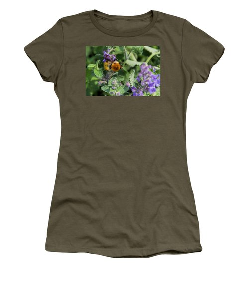 Women's T-Shirt (Junior Cut) featuring the photograph Bee Too by David Gleeson