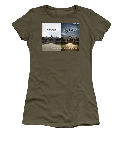 Before And After Women's T-Shirt