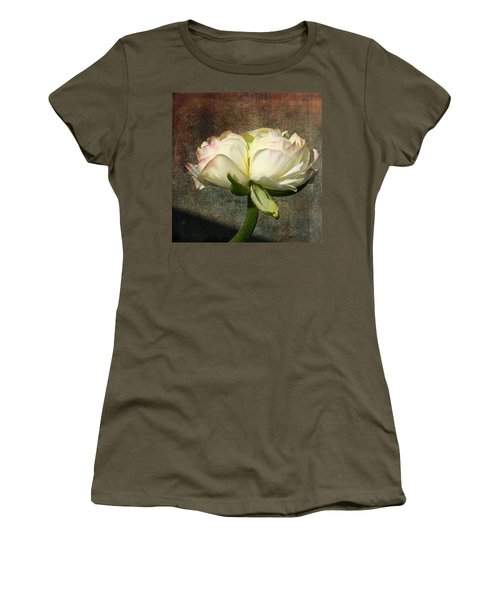 Begonia With A Tint Of Pink Women's T-Shirt (Athletic Fit)