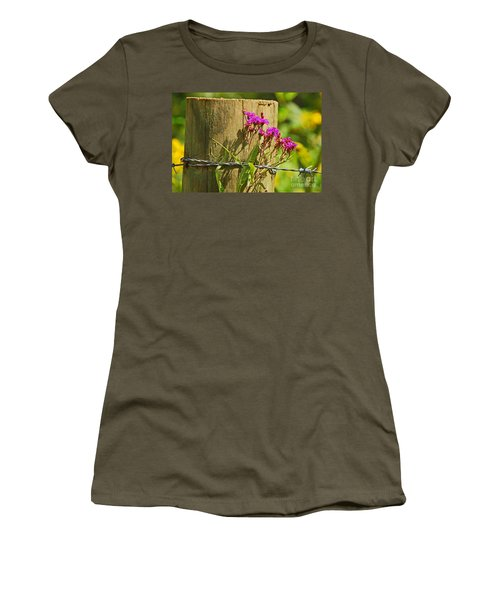 Behind The Fence Women's T-Shirt
