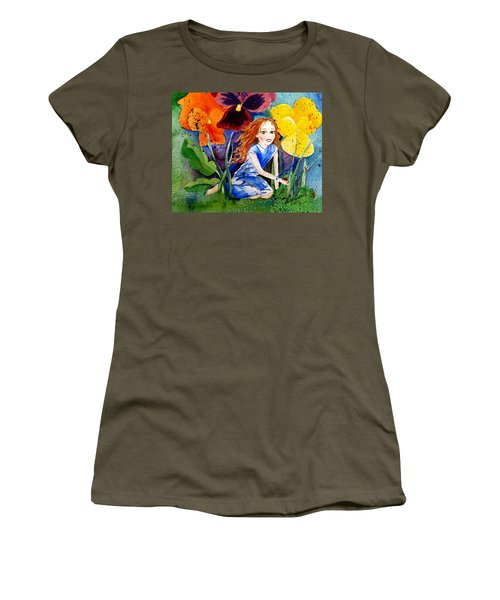 Tiny Flower Fairy Women's T-Shirt