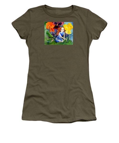 Tiny Flower Fairy Women's T-Shirt
