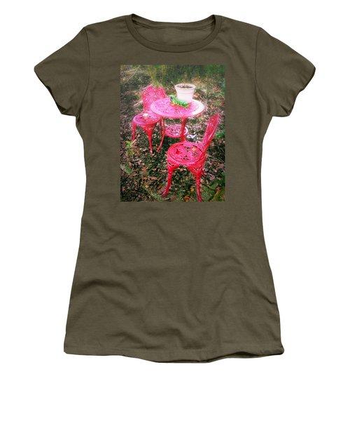 Believe Women's T-Shirt (Junior Cut) by Carlos Avila