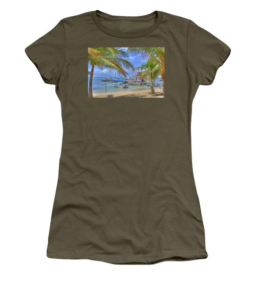 Belize Hdr Women's T-Shirt (Athletic Fit)
