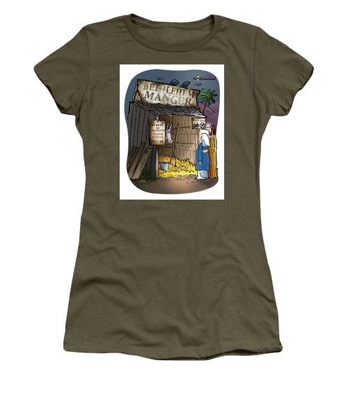 Bethlehem Manger Women's T-Shirt