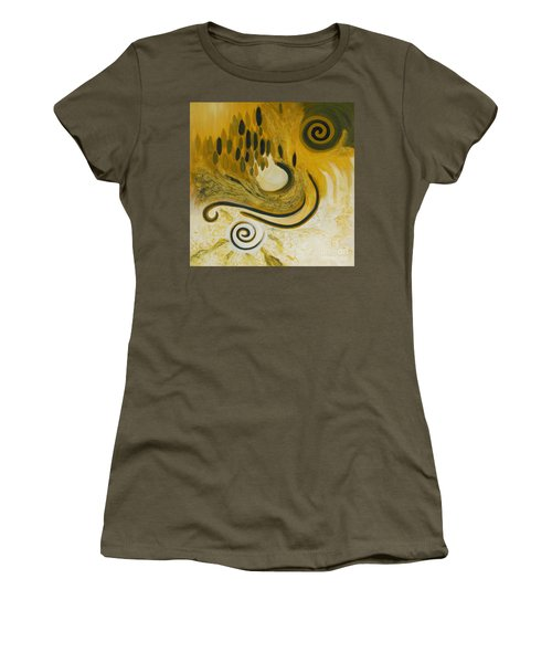 Between Heaven And Hell Women's T-Shirt (Athletic Fit)