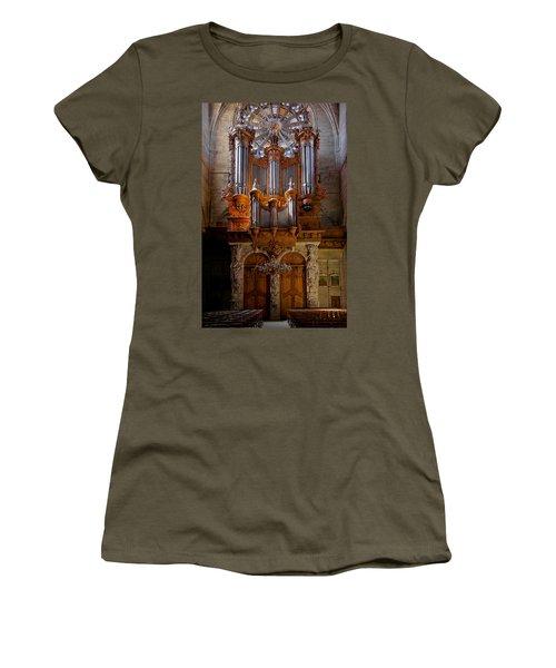 Beziers Pipe Organ Women's T-Shirt