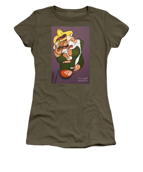 Biding Time Women's T-Shirt (Athletic Fit)