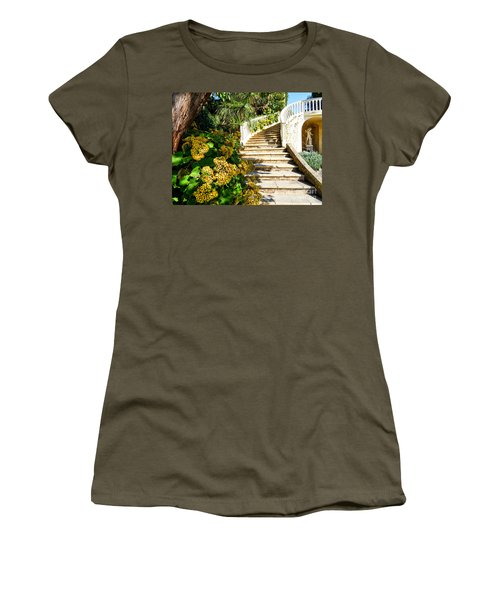 Bienvenue Women's T-Shirt (Junior Cut) by Juergen Klust