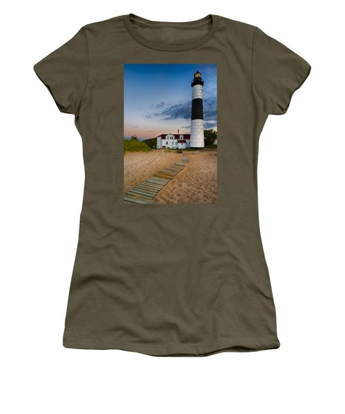 Big Sable Point Lighthouse Women's T-Shirt