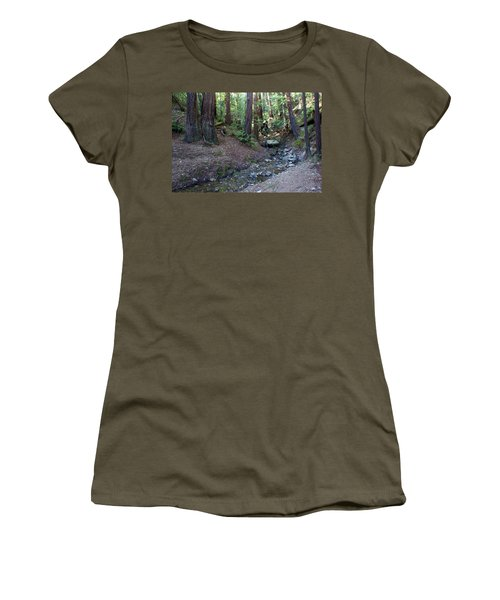 Bigfoot On Mt. Tamalpais Women's T-Shirt
