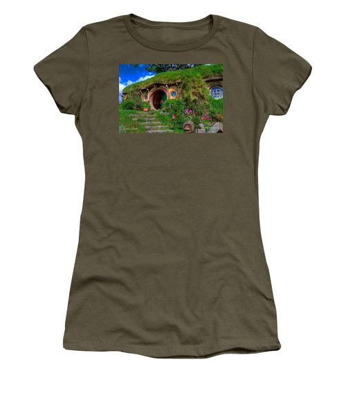 Bilbo Baggin's House 5 Women's T-Shirt (Athletic Fit)
