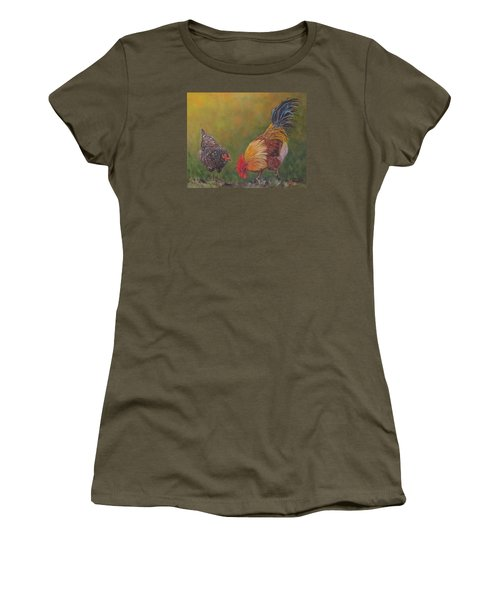 Biltmore Chickens  Women's T-Shirt (Athletic Fit)