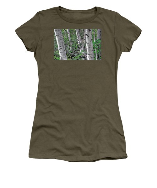 Birches Women's T-Shirt (Athletic Fit)