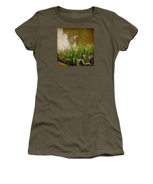 Bird In The Water Women's T-Shirt