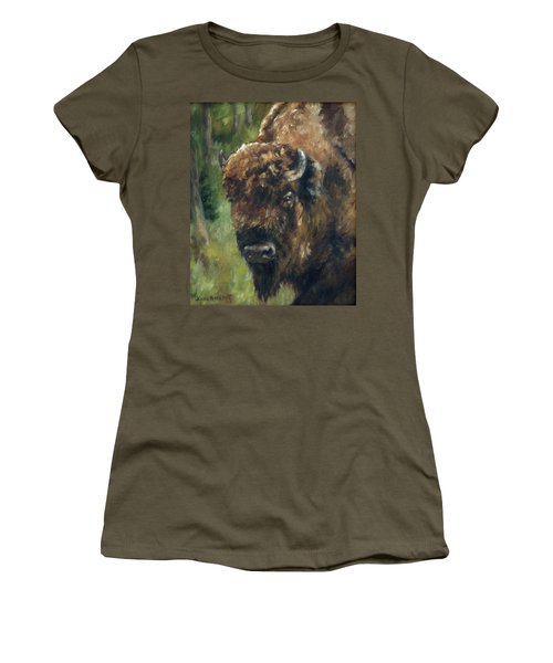 Bison Study - Zero Three Women's T-Shirt