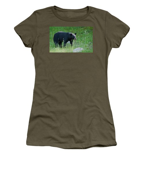 Black Bear Female Women's T-Shirt